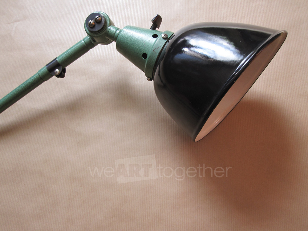 Lampe industrielle midgard vintage applique ajustable orientable