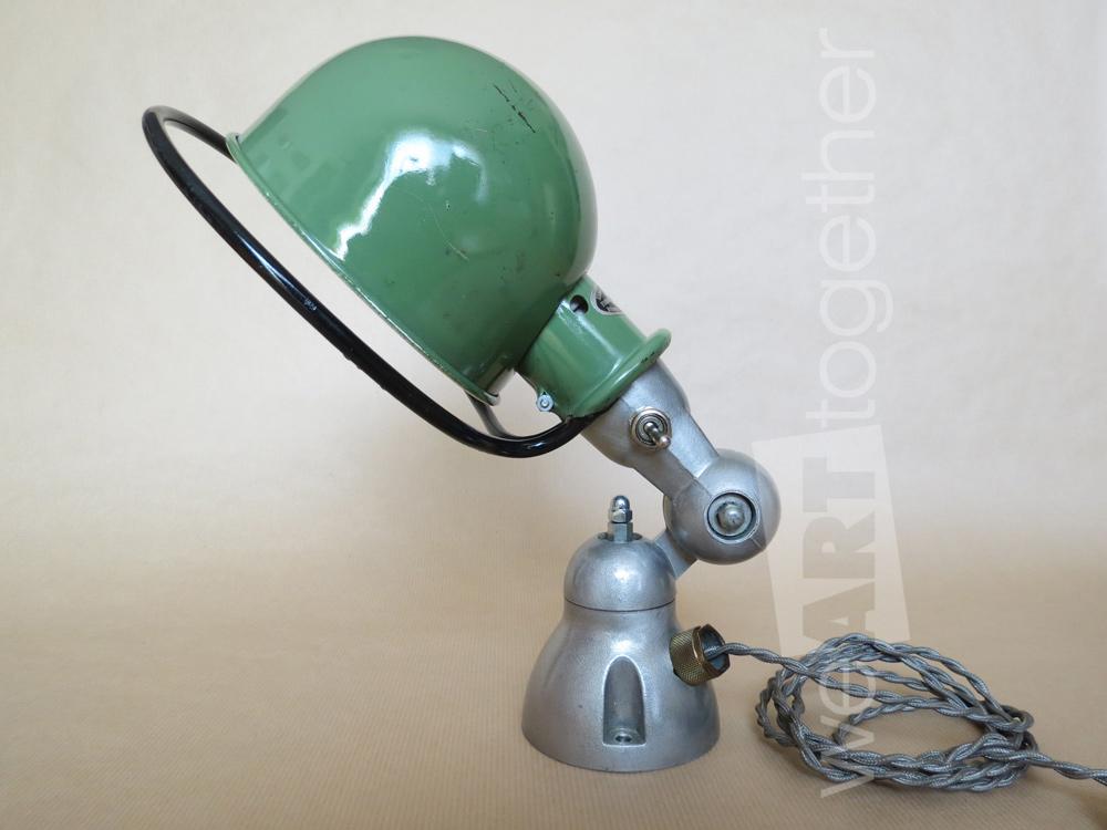 jean louis domecq jield lampe industrielle jield vintage applique ou lampe de table il s. Black Bedroom Furniture Sets. Home Design Ideas